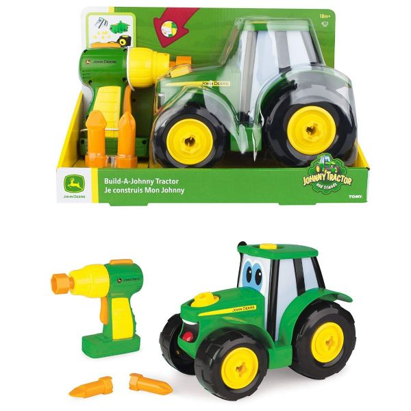 Tomy Build a Johnny Tractor John Deere Johnny Tractor And Friends